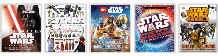 DK Star Wars and LEGO Star Wars books by Author Adam Bray, including the Ultimate Star Wars and the Star Wars Visual Encyclopedia